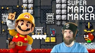 ENTER THE DRAGON | Getting Bodied by a Classic Kaizo [Super Mario Maker]