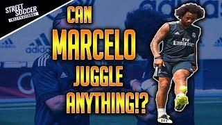 Can MARCELO juggle anything!? FT. Séan Garnier