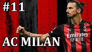 FM21 AC Milan Episode 11 vs Roma Football Manager 2021 let s play