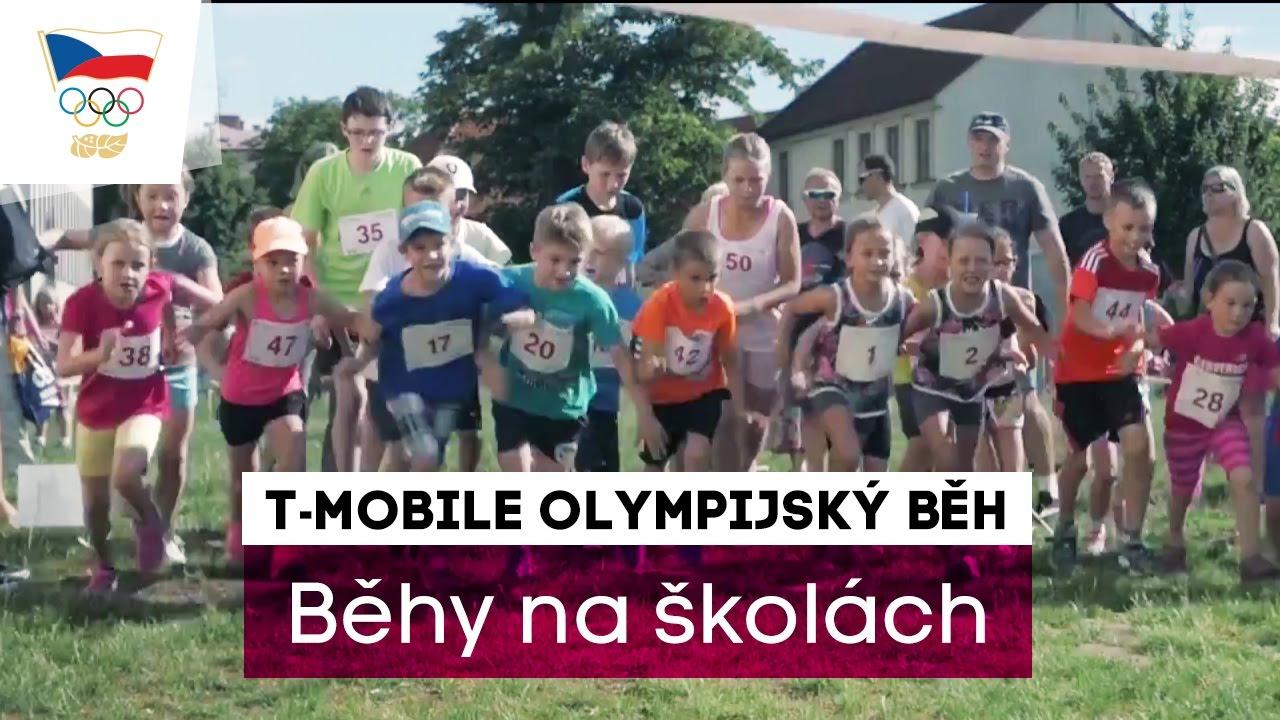 T-Mobile Olympijský běh 2017 na školách