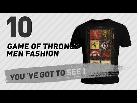Game Of Thrones Men Fashion Best Sellers // UK New & Popular 2017