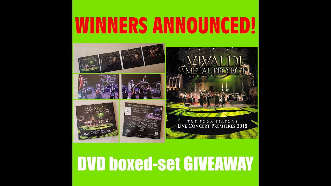 DVD Contest (May 2021) - Winners Announced!