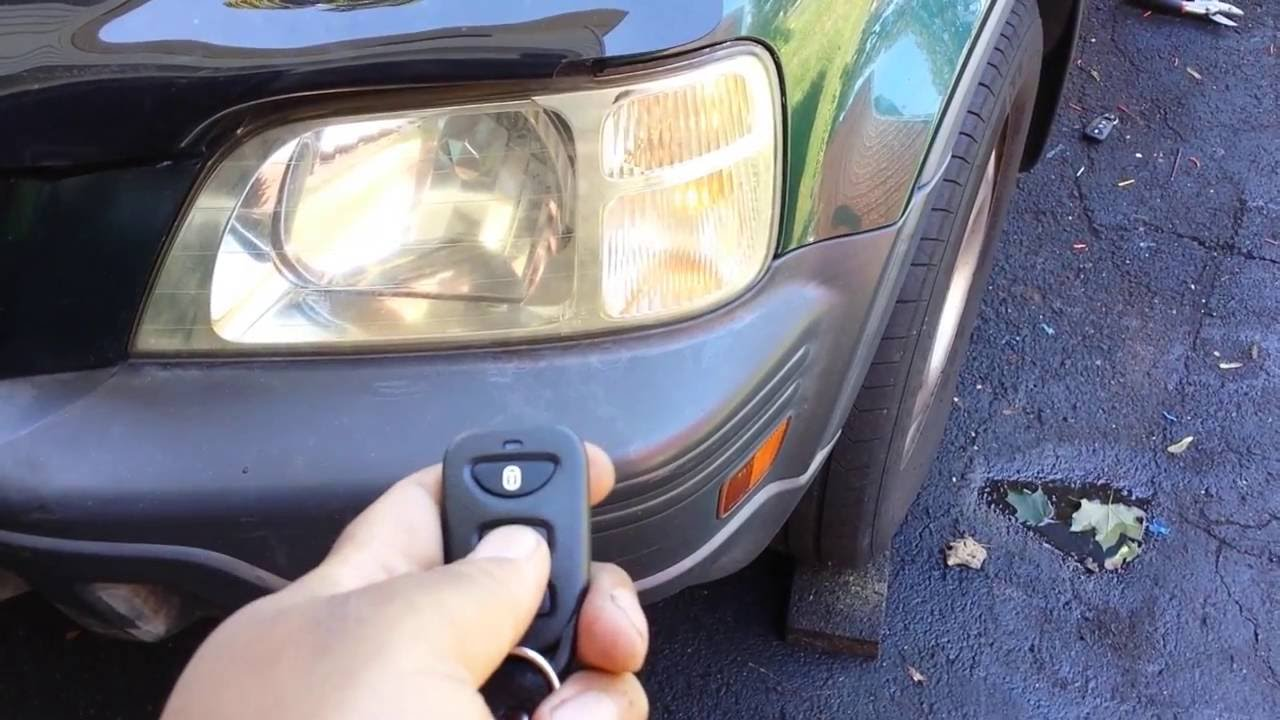 How to install Keyless entry, 9402 Honda crvAccord