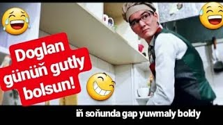 Gowshut Babayew& Mekantersokan-Kafedaky waka degişme..