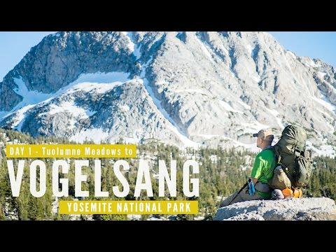 Yosemite Backpacking Trip Day 1 - Tuolumne Meadows to Vogelsang | Travel Photography