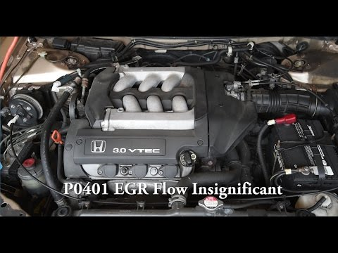 How to Clean EGR Passage in V6 Engine (1998-2002 Honda Accord and Acura) P0401 code