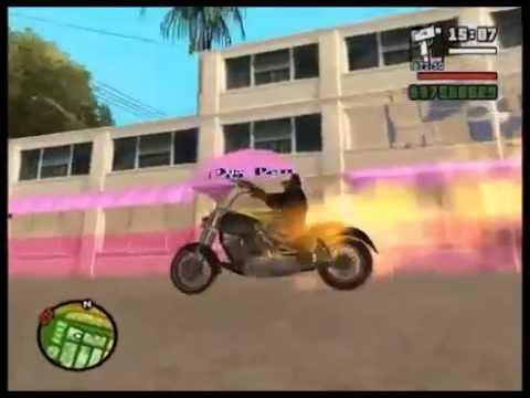 GTA San Andreas Como Hacer La Moto Del Vengador Fantasma