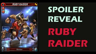 Mythgard | Spoiler Reveal! Ruby Raider