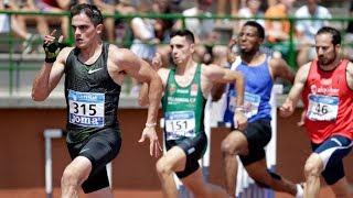 Men's 200m at Spanish Championships 2018