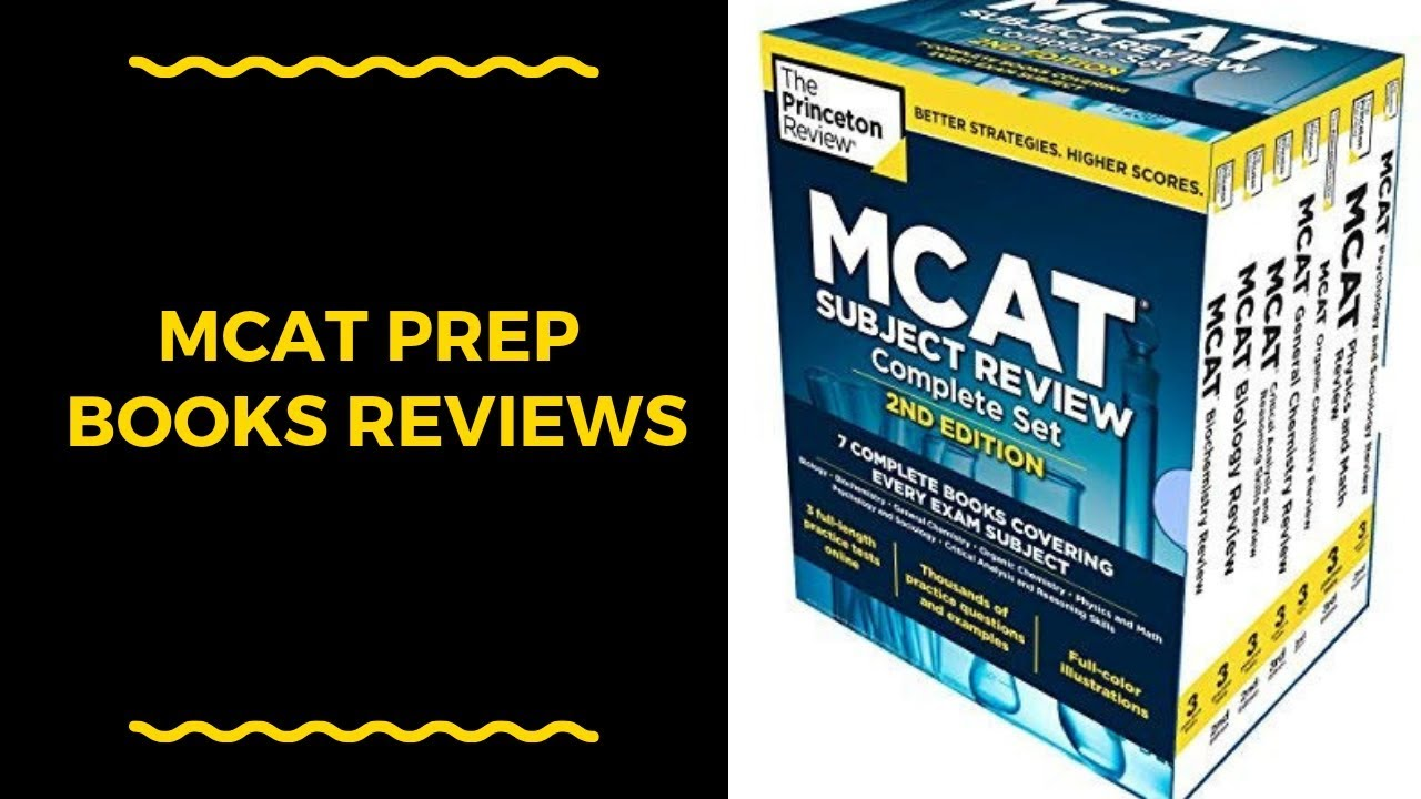 Best Mcat Prep Books 2020 Mcat Prep Books Reviews   Best Mcat Prep Books   YouTube