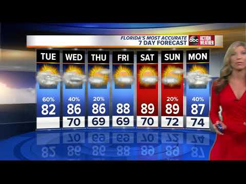 Thumbnail: Florida's Most Accurate Forecast with Shay Ryan on Tuesday, October 17, 2017