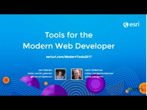 Tools for the Modern Web Developer
