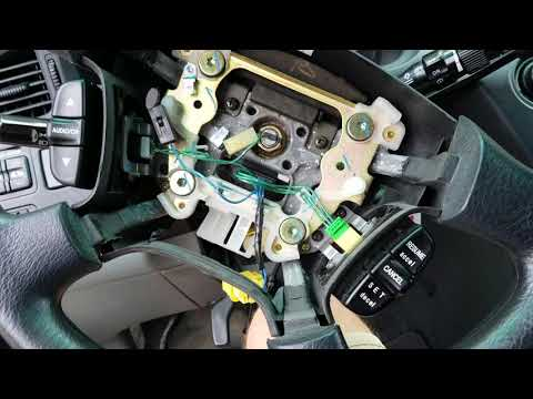 2004 Honda Odyssey steering wheel radio control ground fix