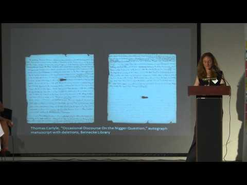The politics of location: Caribbean perspectives 2 – Archives in the Diaspora   Heather Dean, Beinec