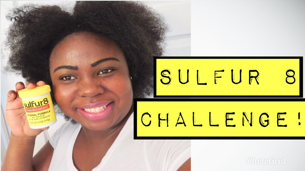 SULFUR 8 30 DAY CHALLENGE SUPER FAST HAIR GROWTH