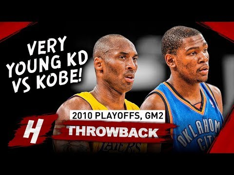 Kobe Bryant Vs Kevin Durant EPIC Game 2 Duel Highlights 2010 NBA Playoffs - MUST WATCH!