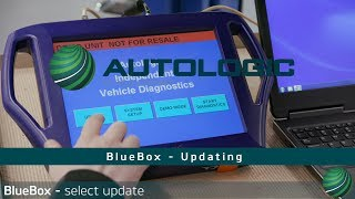 How to Update Autologic BlueBox Diagnostic Software