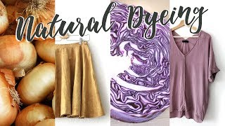 Dyeing Clothes with Vegetables | DIY #Haulternative