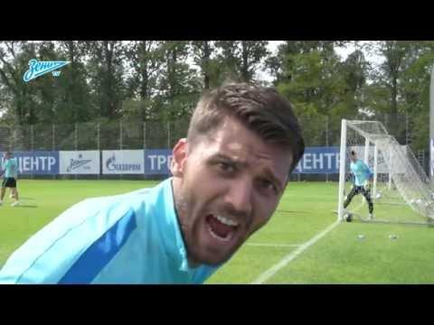 Противостояние Дзюбы и Лодыгина, туннель для Нету и другие моменты тренировки перед игрой с «Динамо»