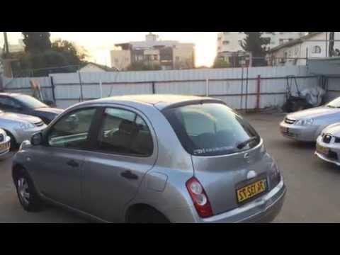 מתקדם לוח רכב קארספלייס-ניסאן מיקרה 2010 Nissan micra - טרייד אין קארס CV-89