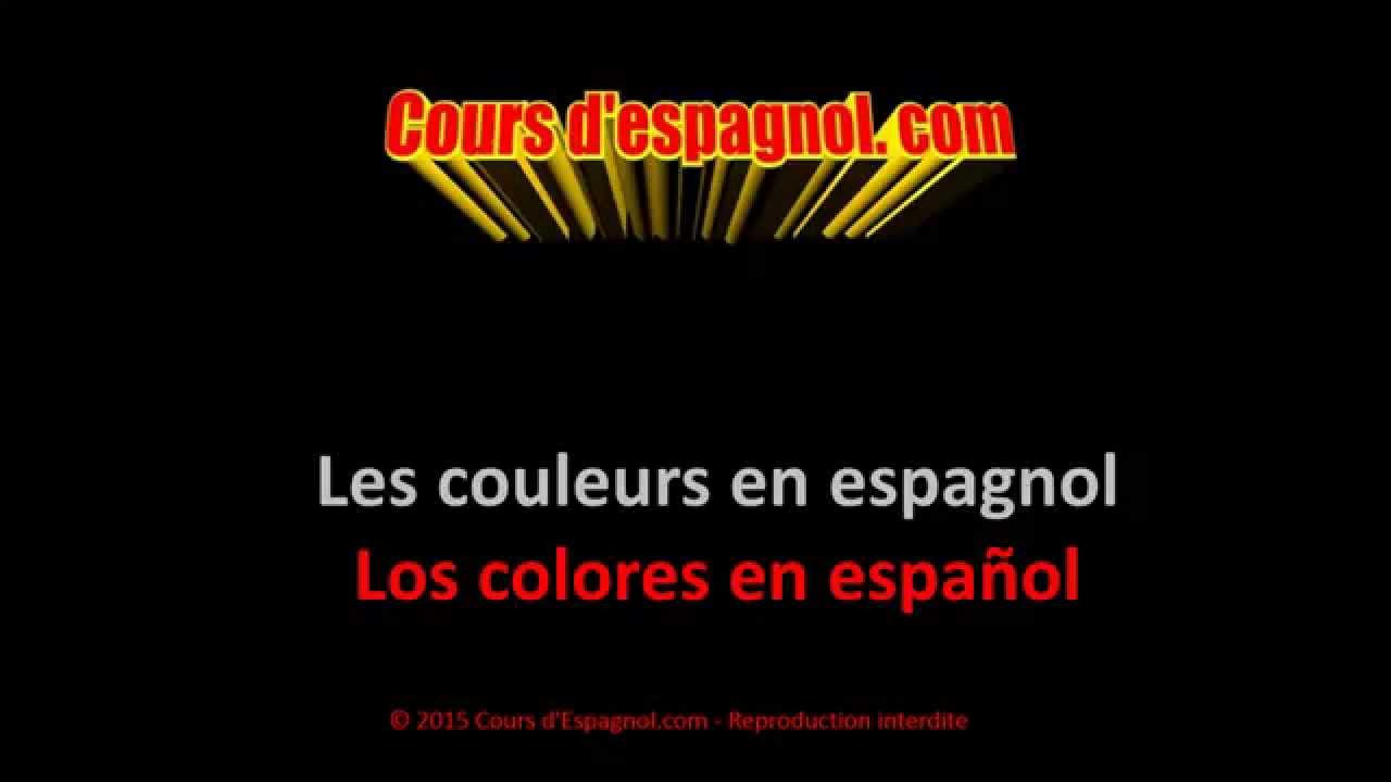 les couleurs en espagnol youtube. Black Bedroom Furniture Sets. Home Design Ideas
