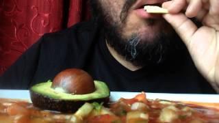 Asmr #216 Mexican Shrimp Cocktail!