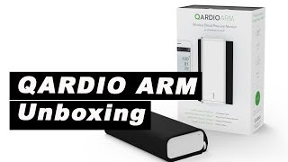 QARDIOARM Smart Blood Pressure Monitor - unboxing -