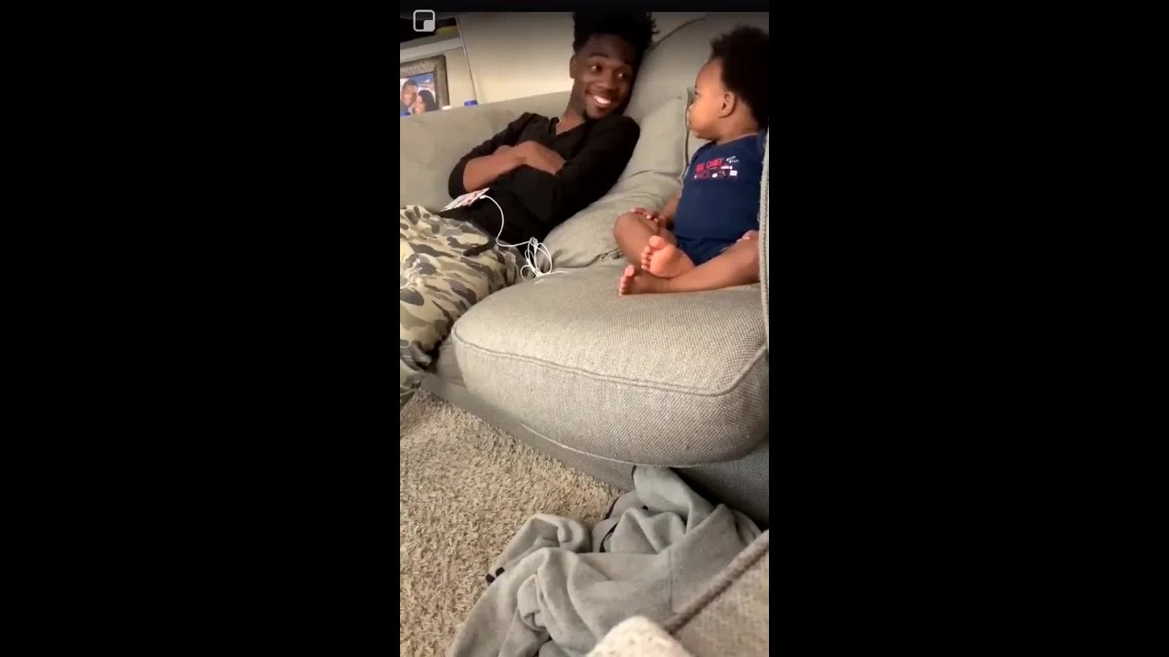 Naked girls talking on couch Viral Video Of Baby Talking To His Dad Will Melt Your Heart Youtube