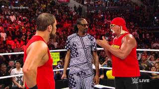 Snoop Dogg and Hulk Hogan contend with AxelMania: Raw, March 23, 2015