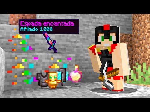 Paso Minecraft pero existen SUPER MINERALES (Loot OP) 😱 Invictor y Mikecrack Hardcore #3