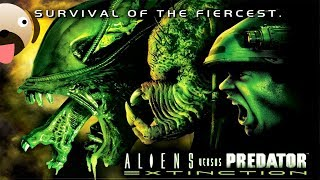 First Alien vs Predator Strategy Game Alien vs Predator Extinction Gameplay