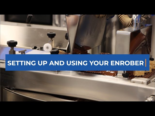 Setting Up and Using Your Selmi Enrober