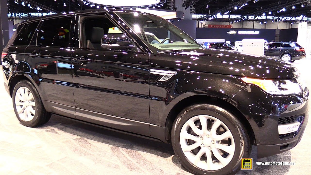 2015 Range Rover Sport Supercharged Exterior and Interior