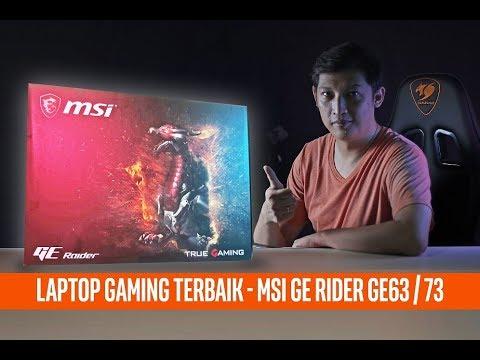 #84 Laptop Gaming TERBAIK saat ini - MSI GE 63/73 RAIDER
