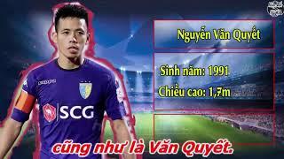 Nhạc chế | Tên Cầu Thủ Và HLV U23 Việt Nam dự ASIAD 2018