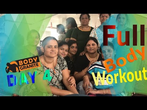 Full body workout ( Day 4 ) Train to Tone Weight loss | cross fit workout( Hindi )