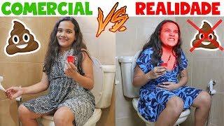 COMERCIAL VS REALIDADE 2 - JULIANA BALTAR