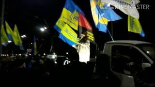 Акція протесту під посольством Російської Федерації (Сергій Файфура- Бандера 2)