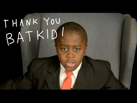 THANK YOU, BATKID! from Kid President