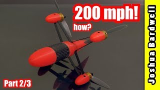 World Drone Speed Record 200 mph Interview (2 / 3)