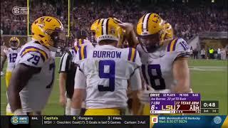 Texas A&M vs LSU 2018 no-huddle