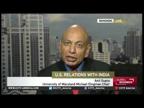 Anil Gupta Addresses The Impact And Implications Of US-India Deal