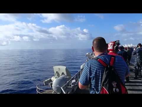 F-18 Super Hornet breaking the Sound Barrier