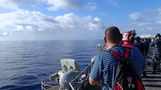 F-18 Super Hornet - Breaking the Sound Barrier!