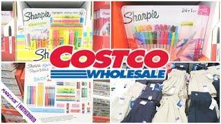 COSTCO Back to School HAUL JULY 2019 🍎✏️🎒