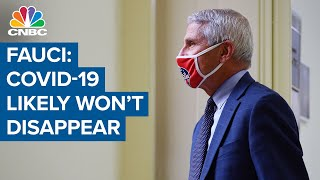Dr. Anthony Fauci: Coronavirus is so contagious, it likely won't ever disappear