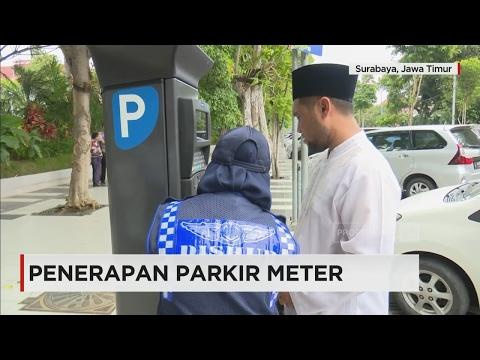 Pemprov Surabaya Uji Coba Penerapan Parkir Meter