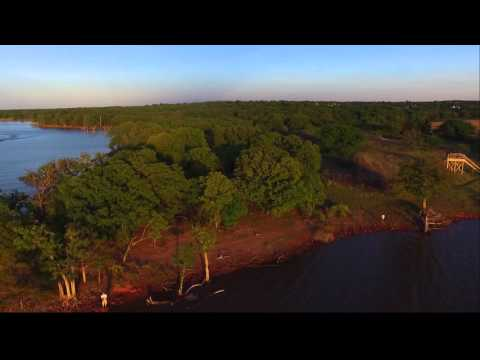 Lake Arcadia  Edmond, Oklahoma drone footage