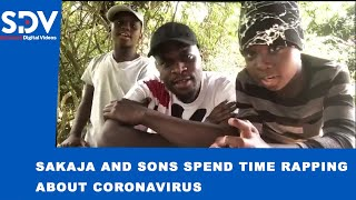 Senator Sakaja and his sons show off their rapping skills as they create awareness about COVID-19