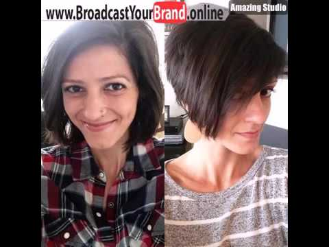 Short Stacked Pixie Bob Style Youtube